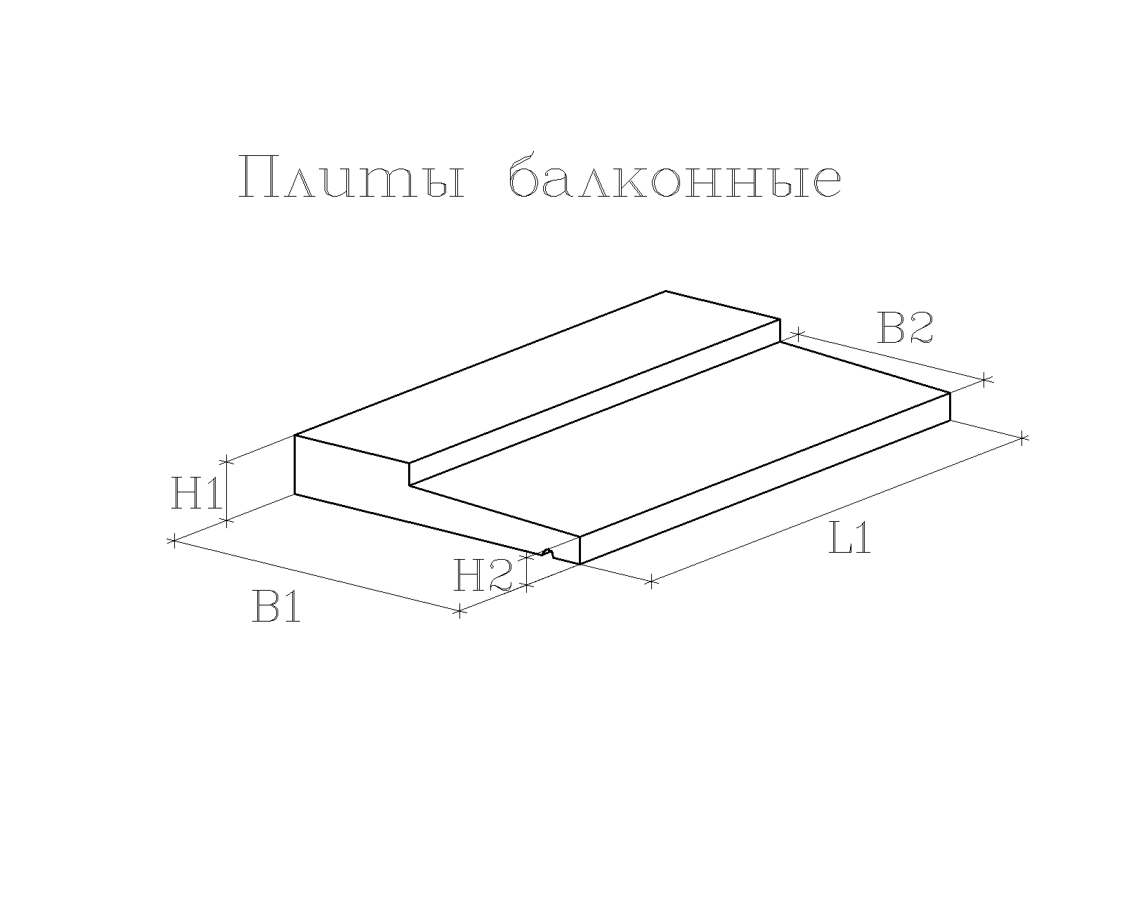 плиты балконные